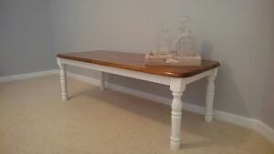Natural Solid Timber Coffee Table Erskine Mandurah Area Preview