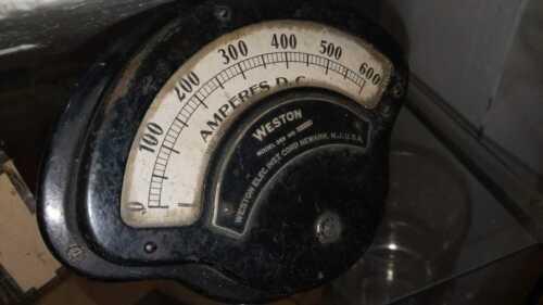 Weston ammeter Vintage Colection