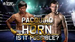 5x Manny Pacquiao vs Jeff Horn tickets JULY 2 - category 6 Pemulwuy Parramatta Area Preview