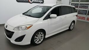 2012 Mazda Mazda5 GT, 56221 KM  , 6 places, bluetooth, régulateu