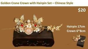 Chinese Style Wedding Headpiece