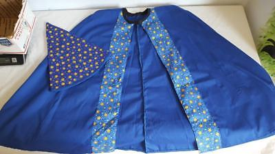 HAND TAILORED CHILD MAGICIAN WIZARD MERLIN DRESS UP COSTUME, HALLOWEEN, ONE SIZE](Merlin Costumes)