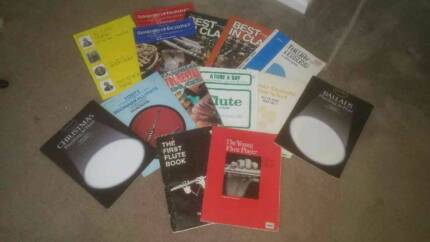 Assorted flute sheet music Brightview Somerset Area Preview