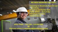 Are you looking for work in Woodstock and Area?  CALL US TODAY!