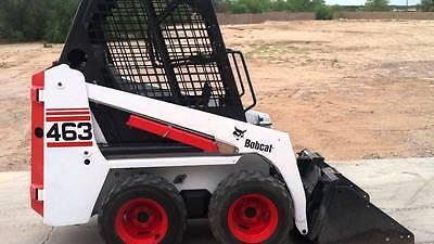 Bobcat 463 Decal Set