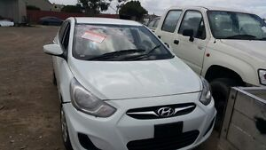 WRECKING 2012 HYUNDAI ACCENT MANY PARTS AVAILABLE CHEAP!! Craigieburn Hume Area Preview