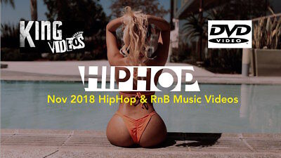 NOV 2018 Rap Hip Hop & RnB 56 Music Videos 2 DVDs, Tory Lanez Cardi B Lil Wayne!