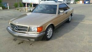 Mercedes 500 SEC  1983 for sale! Very good condition!