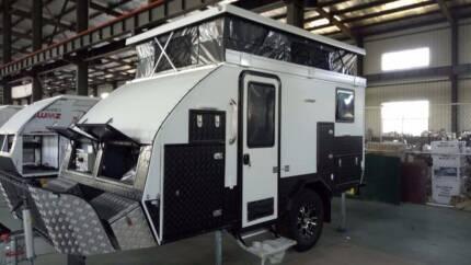 Fantasy F3 12ft Off Road Caravan Pop Up Sliced Bed Camper RV Dandenong Greater Dandenong Preview