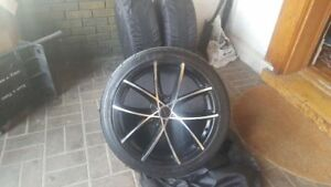 18 Sport tires on Alloy Rims