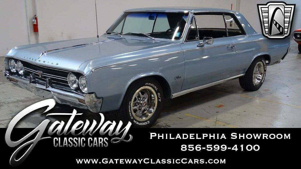 Wedgewood Mist 1964 Oldsmobile Cutlass   403 CI V8 Automatic Available Now!