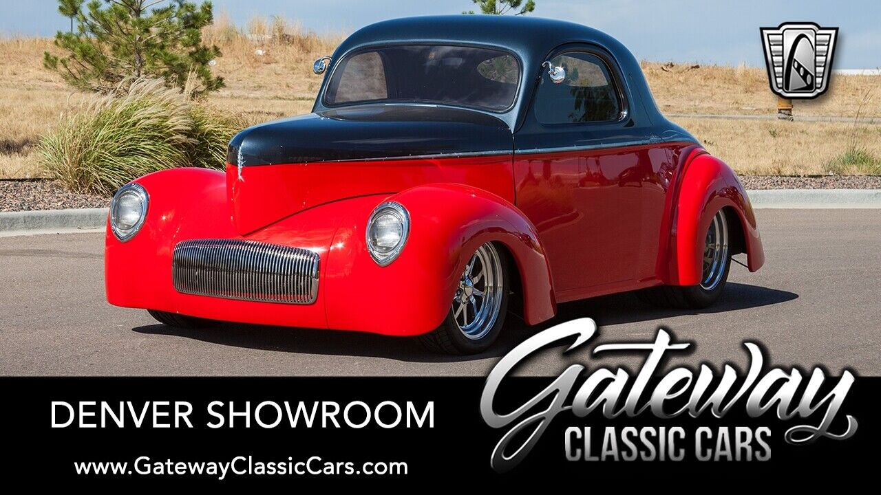 1940 Willys Coupe  Graphite/Red 1940 Willys Coupe  LS1 4 Speed Automatic Available Now!