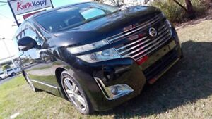 2011 Nissan Elgrand PE52 Highway Star Black Pearl 6 Speed Constant Variable Wagon Underwood Logan Area Preview