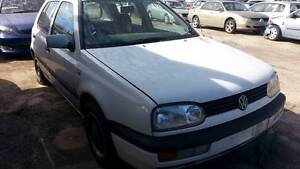 1996 Volkswagen Golf AUTO, 2.0L, WHITE, NOW IS WRECKING Kudla Gawler Area Preview