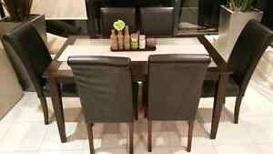 Dining table suite set with six chairs Mawson Lakes Salisbury Area Preview