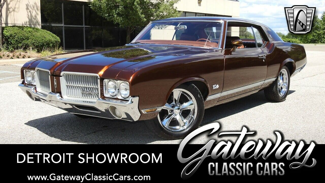Root Beer 1971 Oldsmobile Cutlass  Coupe 350 Rocket TH400 Available Now!