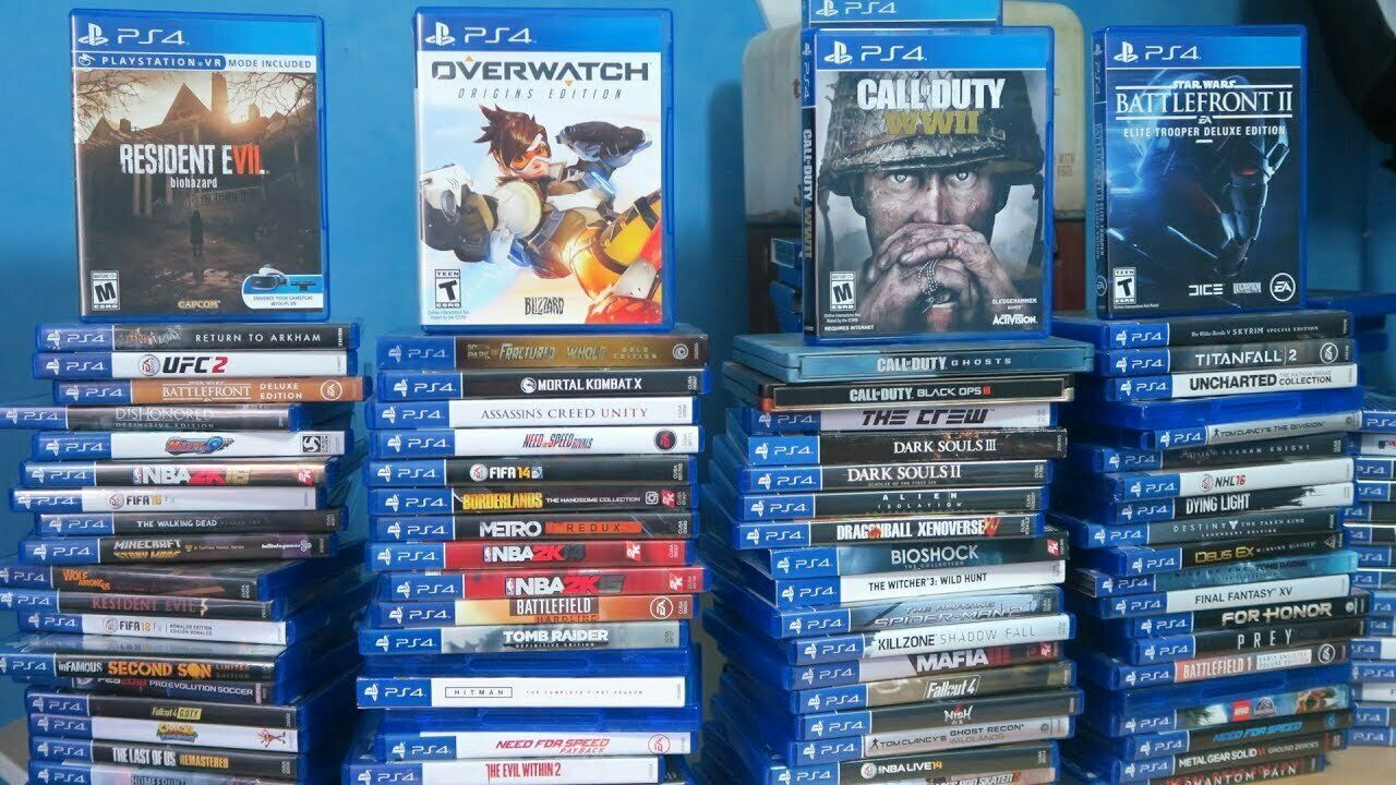 PS4 GAMES HUGE SELECTION & COLLECTION PRE-OWNED NICE CONDITION QUICK FREE SH