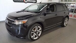 """2012 Ford Edge SPORT, mags 22"""""""", toit ouvrant, SPORT / FULL EQUI"""