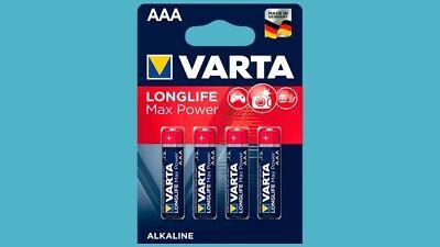 8 x Batterien Varta Longlife Max Power  AAA Micro LR3 10 Jahre NEU ( MaxTech )