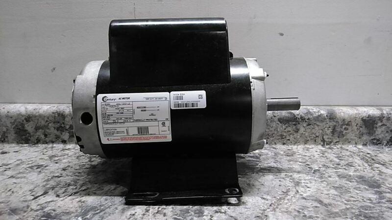 Century B384 5 HP 3450 RPM 208-230VAC Cap-Start/Run Air Compressor Motor (C)