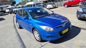 2010 Hyundai i30 FD MY11 SX Blue 4 Speed Automatic Hatchback Homebush Strathfield Area Preview