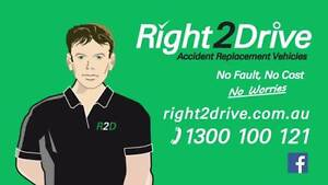Right2Drive Accident Replacement Vehicles Molendinar Gold Coast City Preview