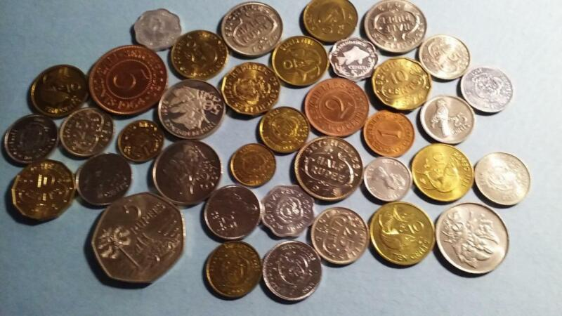 SEYCHELLES - 37 assorted minor coins - AU to PROOF - 5 images - check them out
