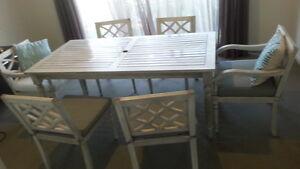 Outdoor table - Eucalyptus Wood Frankston South Frankston Area Preview