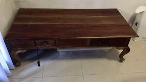 Provincial Wooden coffee table North Strathfield Canada Bay Area Preview