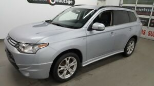 2014 Mitsubishi Outlander V6 GT, AWC , 7 places, cuir, toit ouvr