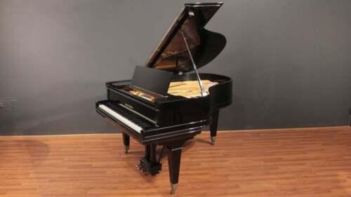 """Mason Hamlin Grand Piano Model A - 5""""8 Black Satin Finish"""