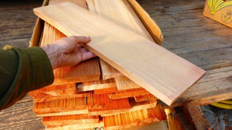 Handsplit Cedar Shakes - Character Quality - Taper - 24 inch