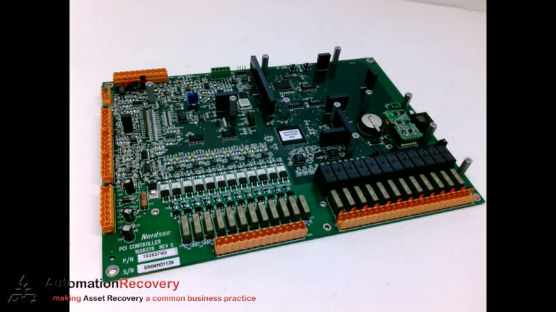 Nordson 1028378 Revision C , Pci Controller Circuit Board #203472