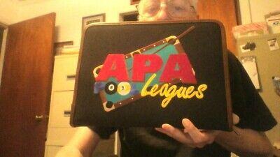Apa Business Leather Portfolio Zippered Notebook Binder Office Organizer