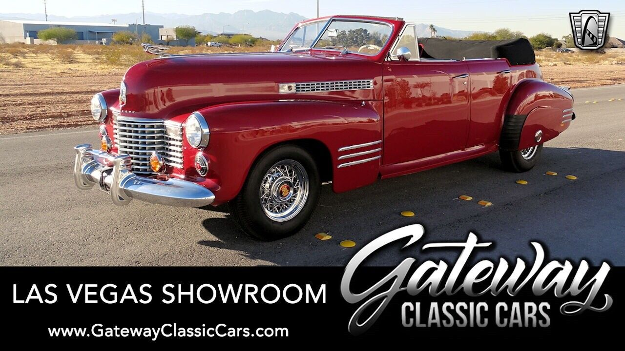 Red 1941 Cadillac Series 62  346 CID Flathead V8 3 Speed Manual Available Now!