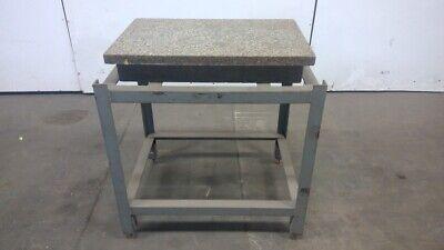 20x30x5 White Pepper Precision Surface Plate 1-12ledge Wstand