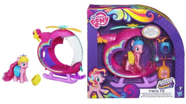 Brand New My Little Pony Pinkie Pie's Rainbow Helicopter Playset by Hasbro