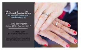 Celebrant Jessica Chan Miranda Sutherland Area Preview