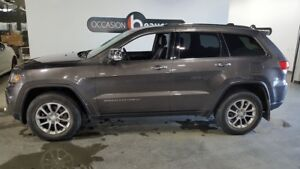 2014 Jeep Grand Cherokee LIMITED, cuir, toit ouvrant, écran 8""""