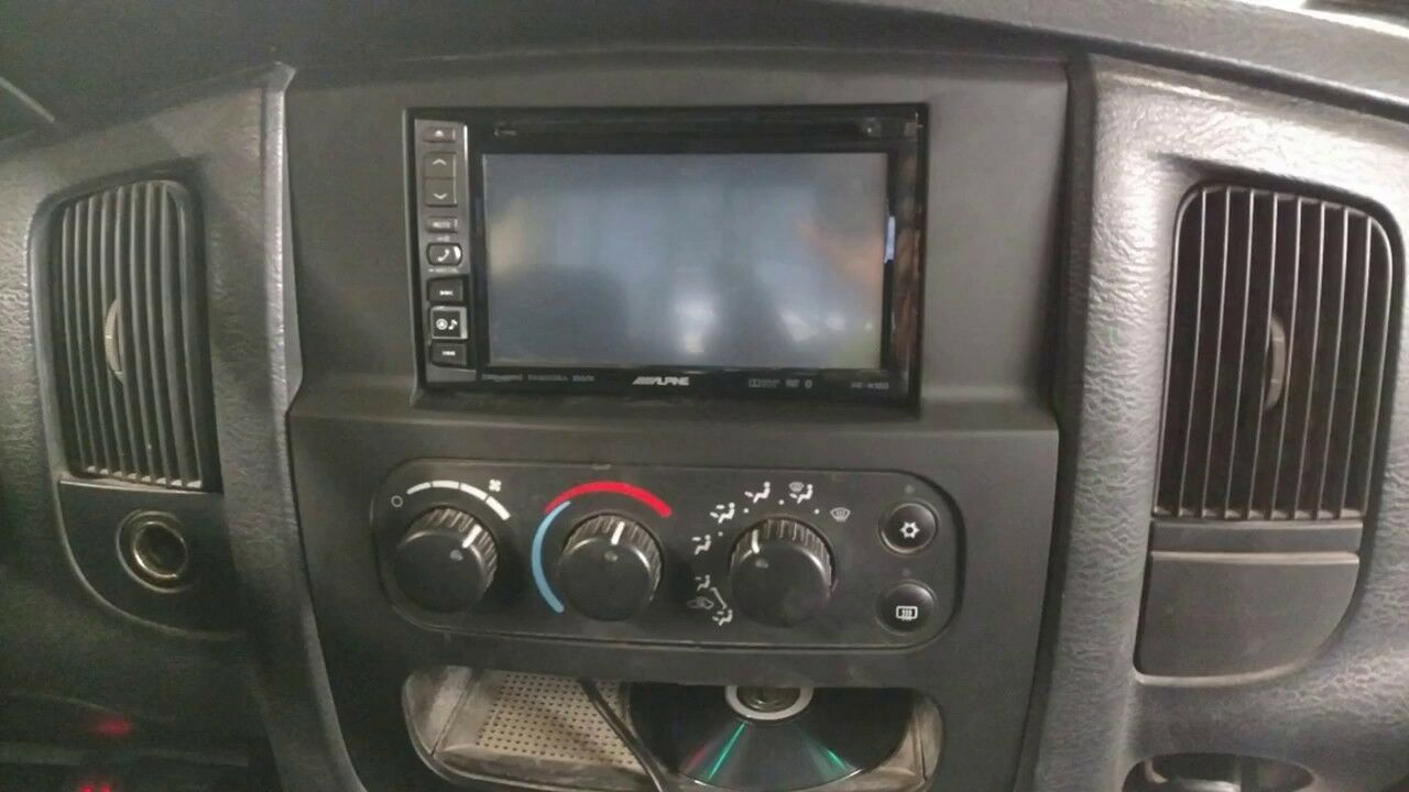 02 03 04 05 Dodge Ram Infinity Jbl Alpine Car Stereo Radio