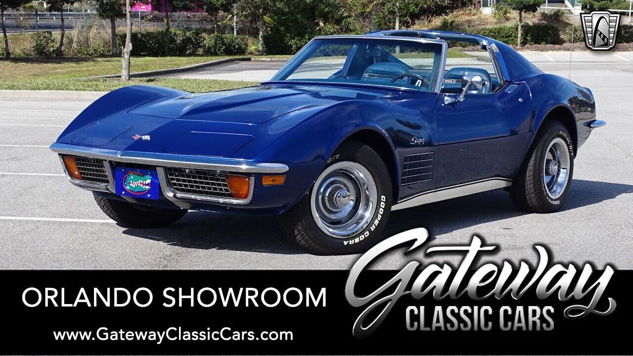 1972 Blue Chevrolet Corvette Stingray  | C3 Corvette Photo 1