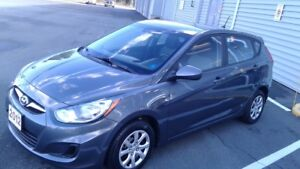 2012 Hyundai Accent 5 DR Hatchback.