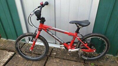 Red Islabike Cnoc 16, Good Condition, Lightweight Kids Bike
