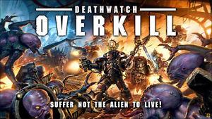 Warhammer 40K: Deathwatch Overkill: Board Game, Rulebooks & Accessories no minis