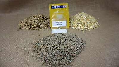 $36.00 - 10 LB. Moonshine Mash Kit, With Recipe, Instructions, Yeast, and Amylase Enzymes