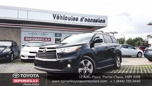 2014 Toyota Highlander LIMITED GPS, BSM, PARK ASSIST, JBL