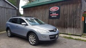 2007 Mazda CX-9 GT,4WD,Leather,Sunroof,DVD