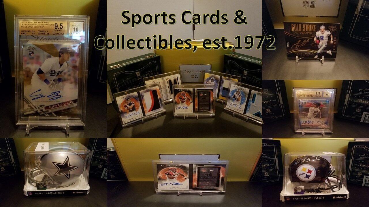 Sport Cards & Collectibles est.1972