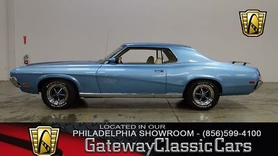 1970 Mercury Cougar -- 1970 Mercury Cougar  0 Glacier Blue Coupe 351 CID V8 Automatic