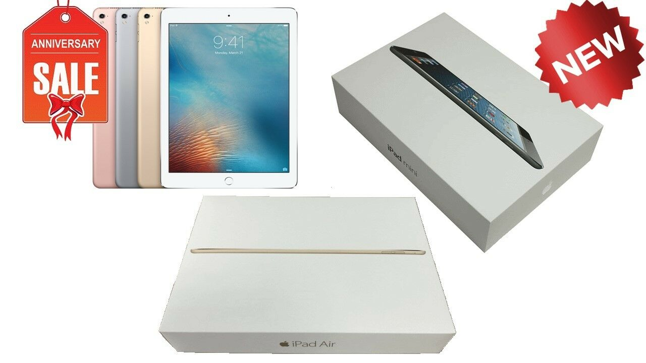 Ipad 2 - NEW Apple iPad Air/mini/1,2,3,4 16GB,32GB,64GB,128GB Wi-Fi + 4G Cellular Tablet